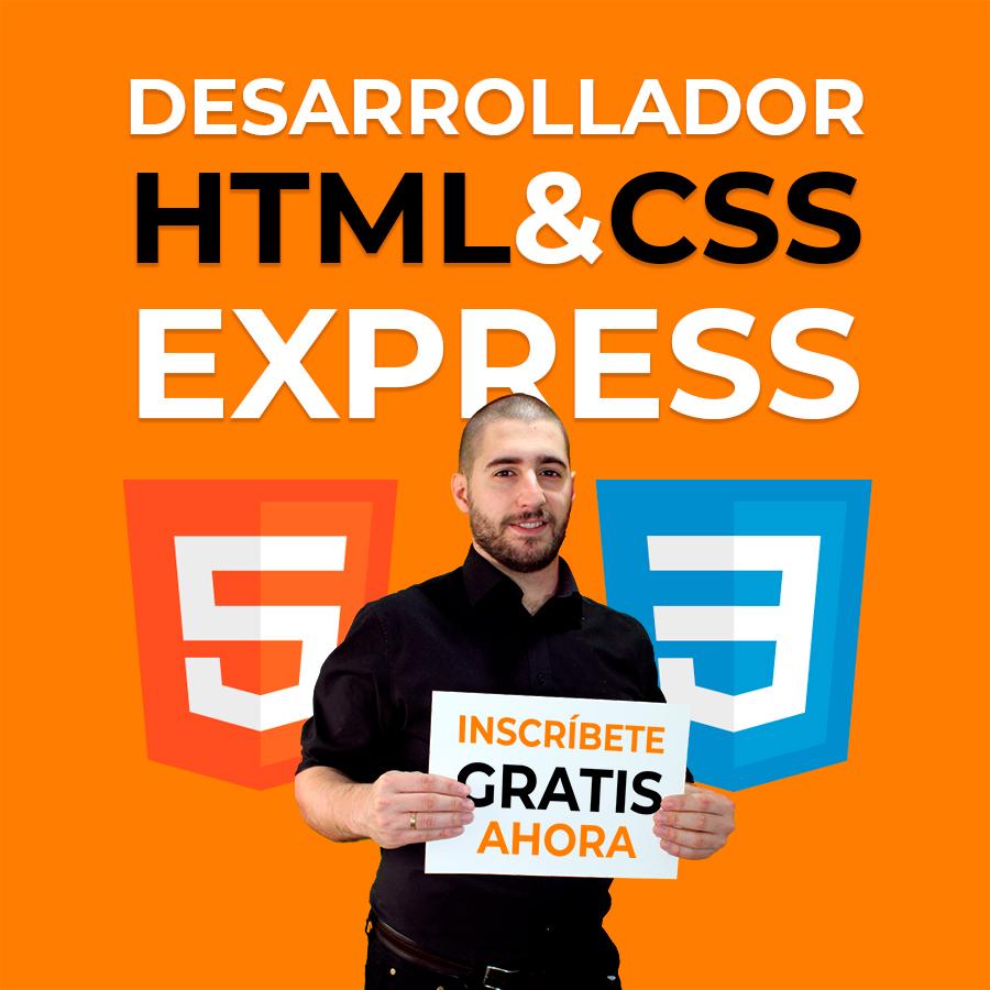 Curso Desarrollador HTML & CSS Express