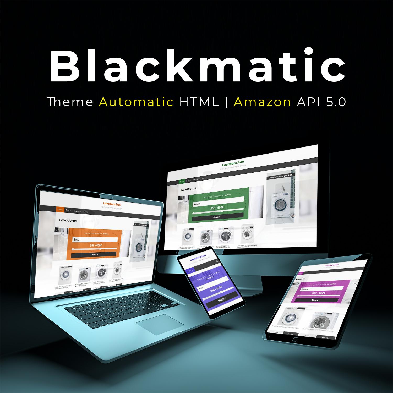 Comprar plantilla blackmatic