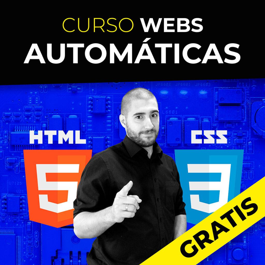 Curso de Webs Automáticas en HTML